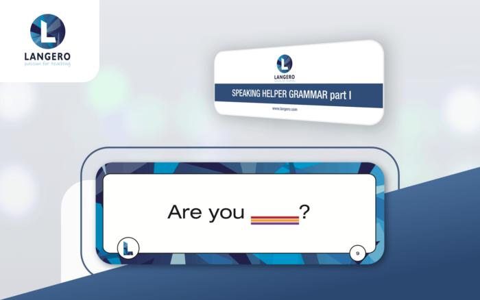 karty Speaking Helper - Grammar part I